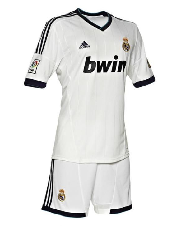 New Real Madrid Home Uniform Kit 2012-2013