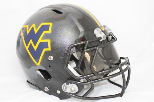 West Virginia new jerseys grey gray helmet uniform change