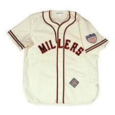 Minnesota Twin wear Minneapolis Millers Uniforms Throwback