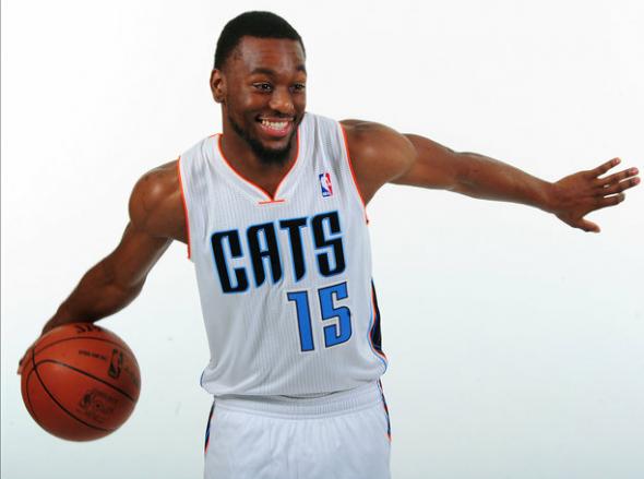 Charlotte Bobcats New Home Uniform 2012-13
