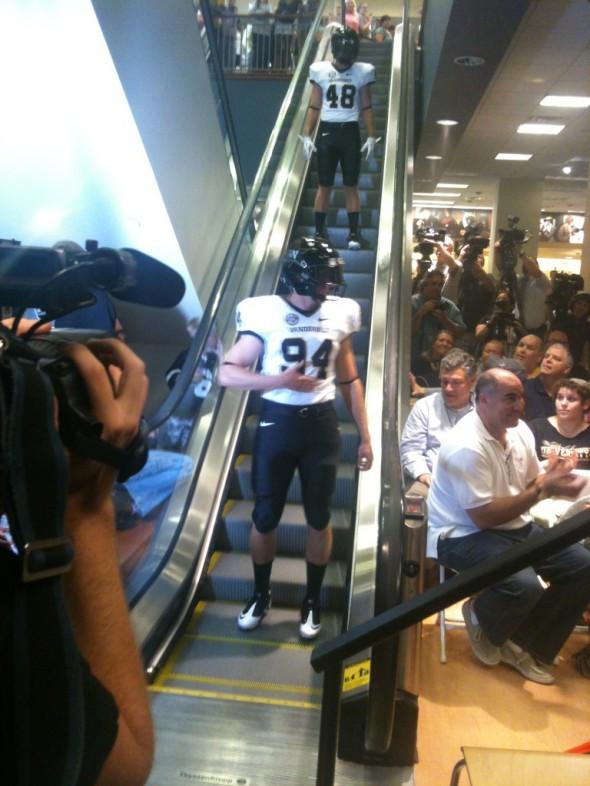 Vanderbilt Commodores New Uniform 2012 black white black