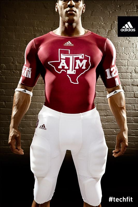 Texas A&M Aggies new jerseys uniform Adidas maroon-2