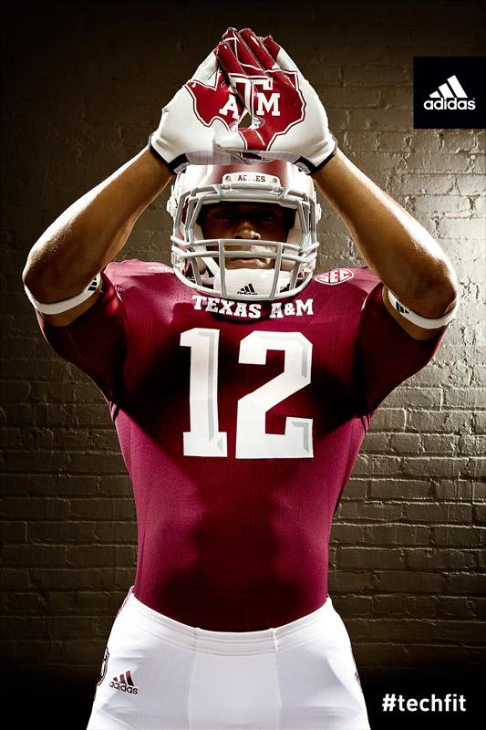 Texas A&M Aggies new jerseys uniform Adidas maroon-5