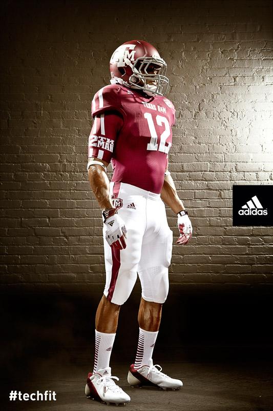 Texas A&M Aggies new jerseys uniform Adidas maroon-6