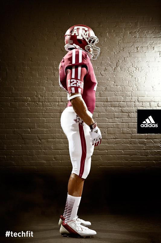 Texas A&M Aggies new jerseys uniform Adidas maroon-7