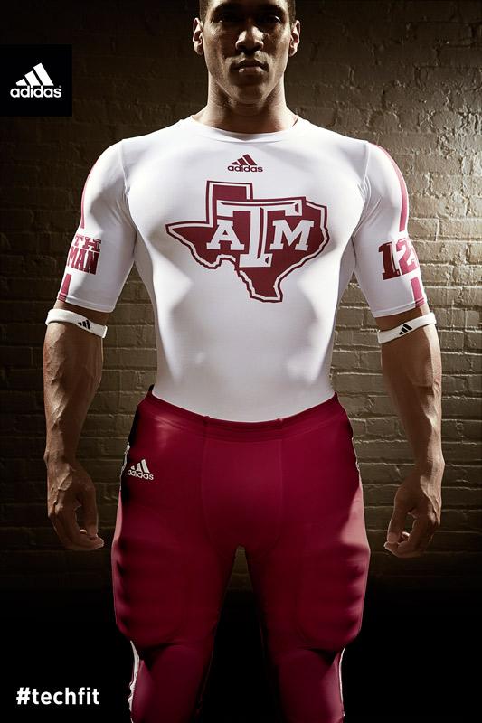 Texas A&M Aggies new jerseys uniform Adidas white-2