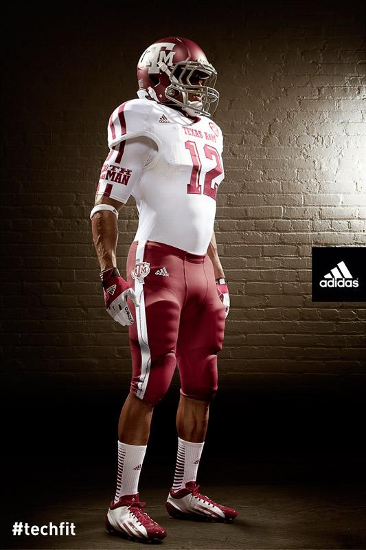 Texas A&M Aggies new jerseys uniform Adidas white-5