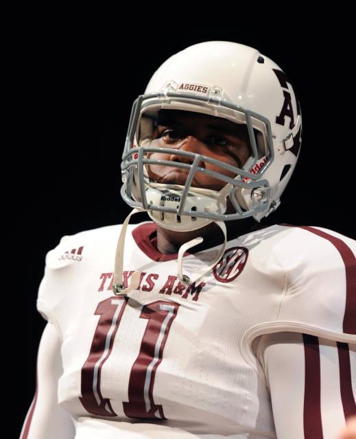 Texas A&M Aggies new jerseys uniform Adidas white helmet