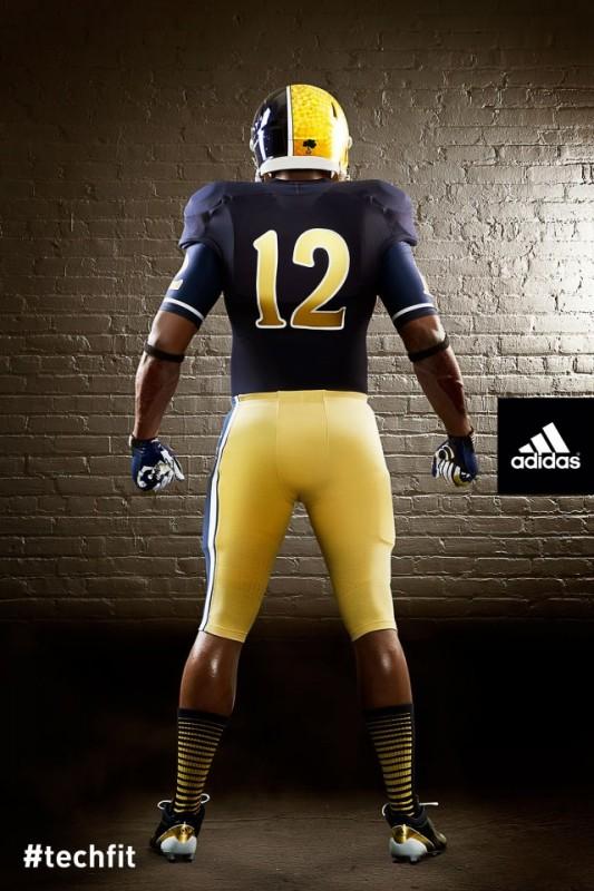 Notre Dame Shamrock Series new uniforms Back