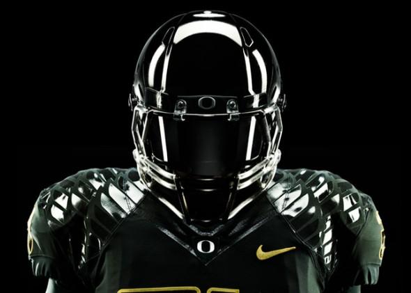 Oregon Ducks 2012 New Uniforms - Rose