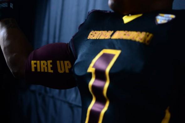Central Michigan Chippewas new uniforms adidas fireup