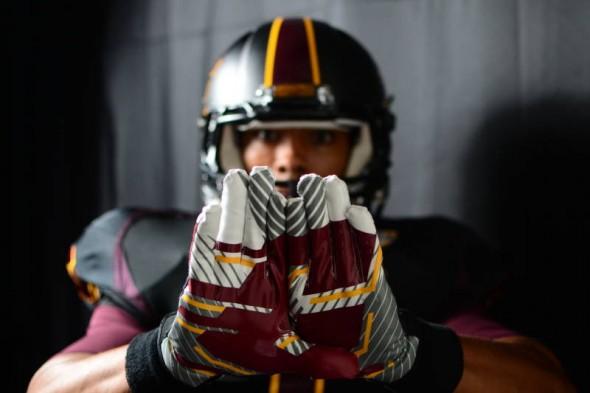 Central Michigan Chippewas new uniforms adidas gloves