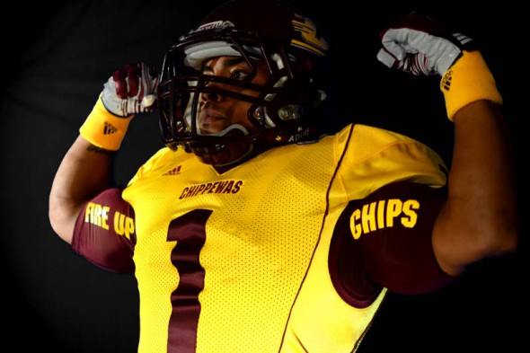 Central Michigan Chippewas new uniforms adidas chips