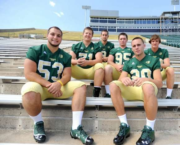 Colorado State Rams new uniforms clean