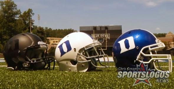 Duke Blue Devils New Helmets Black Matte Flat Blue All 3
