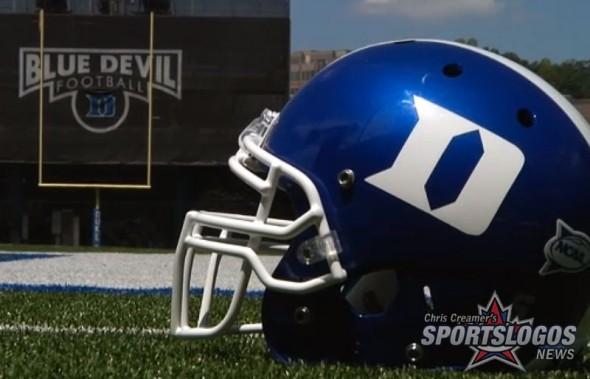 Duke Blue Devils New Helmets Black Matte Flat Blue reversed