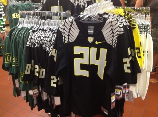 Oregon Ducks 2012 New Uniforms - Store Replicas