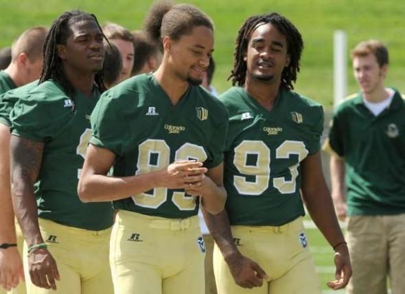 Colorado State Rams new uniforms walk