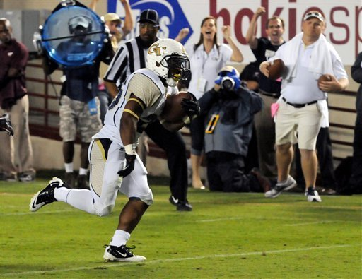 Georgia Tech new uniforms ugly honeycomb white chickenwire helmet awful TD