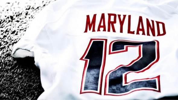 Maryland Terrapins White Ops new uniforms - jersey
