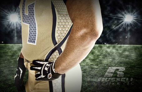 Georgia Tech new uniforms ugly honeycomb white chickenwire helmet awful gold side