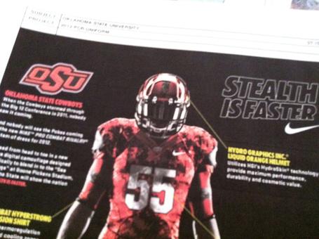 Oklahoma State University Cowboys Digital Camo Nike camouflage texas - jersey