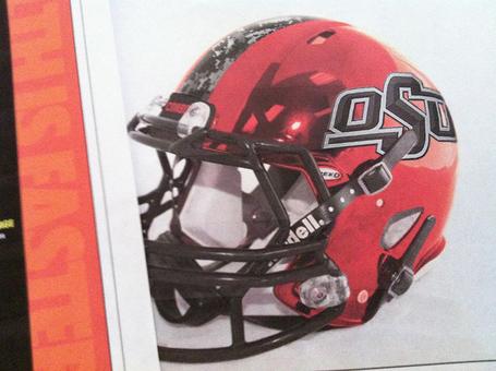 Oklahoma State University Cowboys Digital Camo camouflage texas - helmet