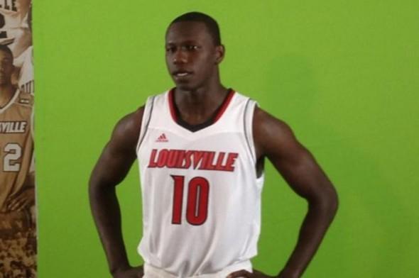Louisville cardinals basketball adidas new uniform - Dieng