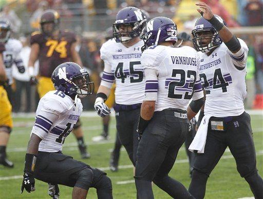 SportsLogos.Net Best/Worst 2012 college football NCAA best uniform - Northwestern minne