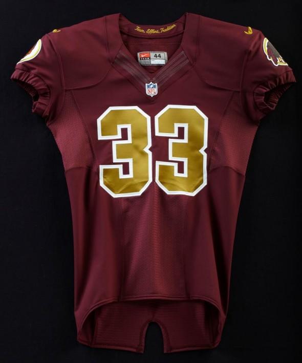 Washington Redskins throwback panthers sunday November retro leather helmets - front