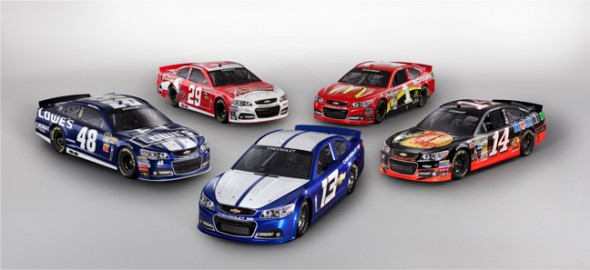 NASCAR Changes Car and Ad Designs for 2013 | Chris Creamer's SportsLogos.Net News and Blog : New ...