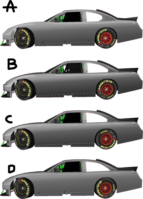 NASCAR 2013 rule changes camry fusion ss chevrolet ford toyota dodge - 2011 quiz