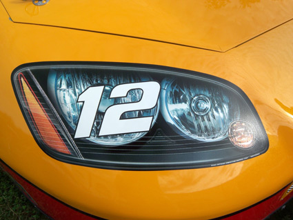 NASCAR 2013 rule changes camry fusion ss chevrolet ford toyota dodge - headlight numbers