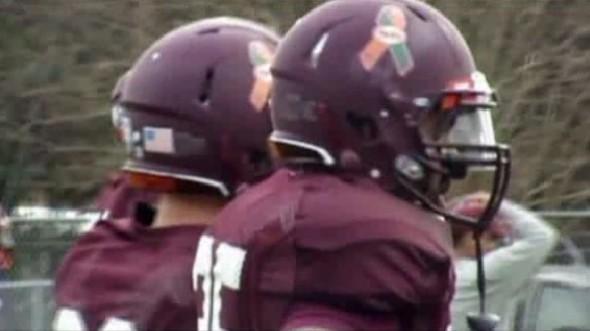 Virginia Tech Sandy Hook tribute sticker decal 58 prevail - practice 1