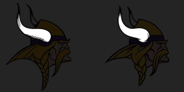 02 horn style Minnesota Vikings 2013 New Logo