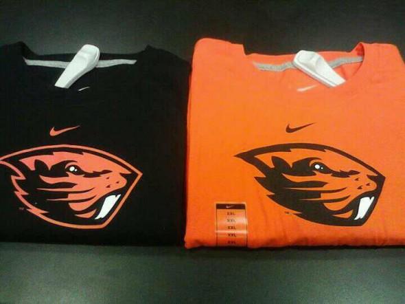 Oregon State Beavers tshirts