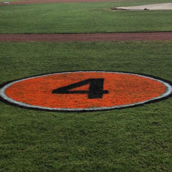 field Earl Weaver Memorial Patch Orioles