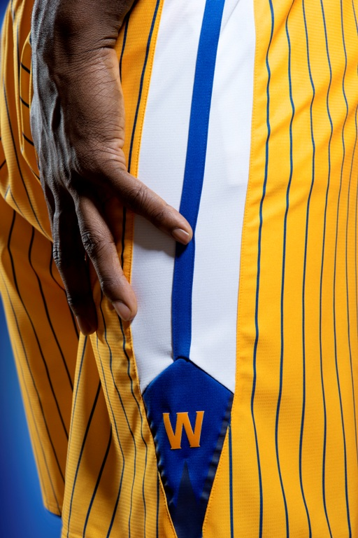 Adidas Golden State Warriors jersey sleeves - shorts