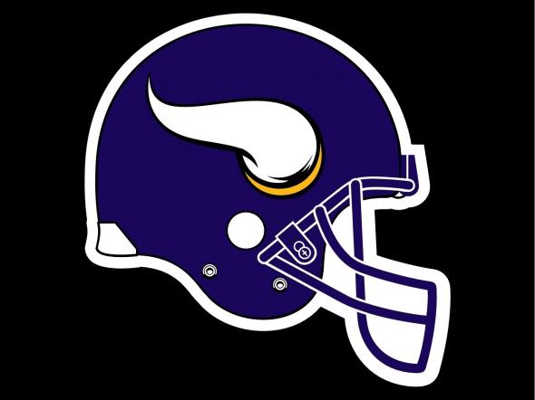 Helmet Minnesota Vikings 2013 New Logo