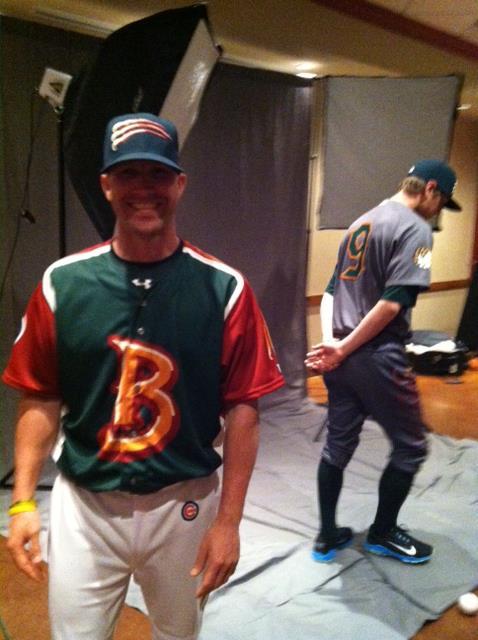 bold colors - Boise Hawks Northwest League uniforms brandiose