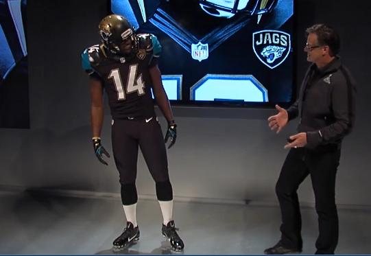 Jacksonville Jaguars 2013 New Uniform Unveil