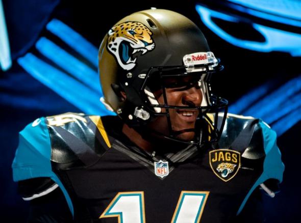 Jacksonville Jaguars 2013 New Helmet