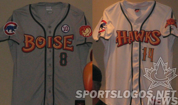 original_jerseys - Boise Hawks Northwest League uniforms brandiose