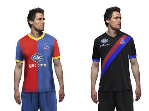 kits - Crystal Palace FC new badge new logo new uniforms new kits