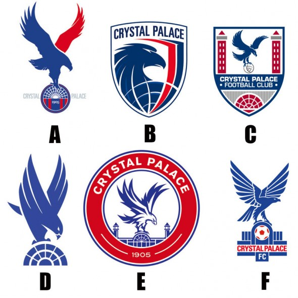 vote - Crystal Palace FC new badge new logo new uniforms new kits