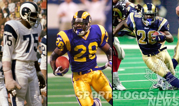 St. Louis Rams football new uniforms history featured