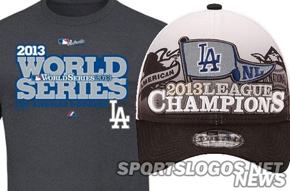 Dodgers 2013 NL Champs Phantom Merchandise