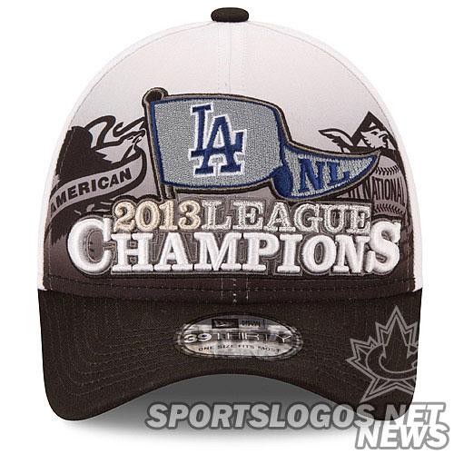 Dodgers 2013 NL Champs cap