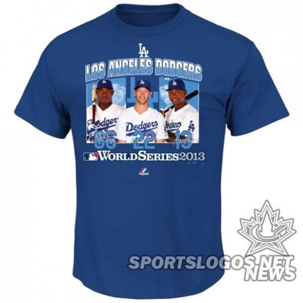 Dodgers NL t-shirt 3