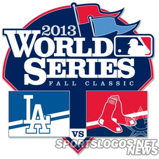 Dodgers-Red Sox WS Pin